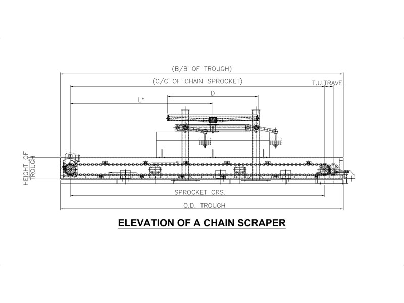 Synergy Elevation Chain Scraper